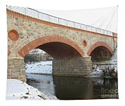 The Old Railway Bridge In Silute. Lithuania. Winter Tapestry