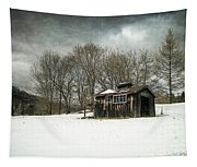 The Old Sugar Shack Tapestry