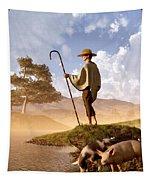 The Old Swineherd Tapestry