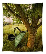 The Old Wheelbarrow Tapestry