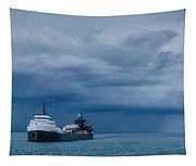 The Oncoming Storm Tapestry