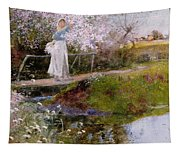The Orchard Brook  Tapestry