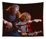 The Outlaws - Hughie Thomasson And Billy Jones Tapestry
