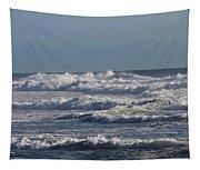 The Pacific Ocean Near Oceanside Ca Tapestry