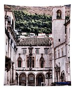 The Palace And The Tower Tapestry