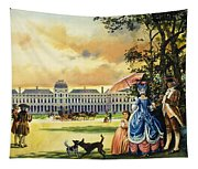 The Palace Of The Tuileries Tapestry
