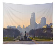The Parkway In The Morning Tapestry