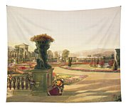 The Parterre  Trentham Hall Gardens Tapestry