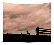 Nature The Peace Of Dusk Tapestry