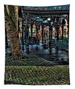 The Pergola In Pioneer Square IIi Tapestry