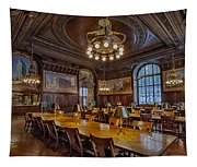 The Periodical Room At The New York Public Library Tapestry
