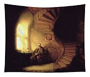 The Philosopher In Meditation Tapestry