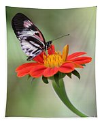 The Piano Key Butterfly Tapestry