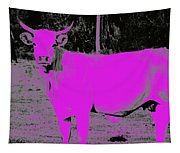 the Pink Cow Tapestry