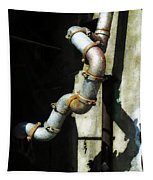 The Planning Department's Sewage Pipe Tapestry