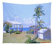 The Point Morning Light Tapestry