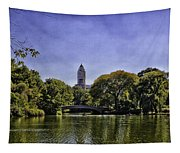 The Pond - Central Park Tapestry