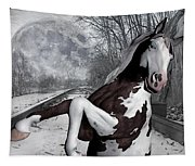 The Pony Express Tapestry