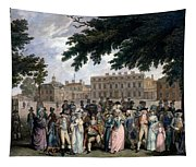 The Promenade In St James Park, C.1796 Tapestry