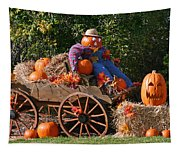 The Pumpkin Farmer Tapestry