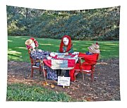 The Quilting Bee Scarecrows Tapestry