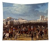 The Race Over, Print Made By Charles Tapestry
