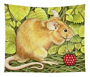 The Raspberry Mouse Tapestry