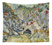 The Ravine Of The Peyroulets Tapestry