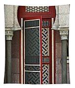 The Red Door Tapestry
