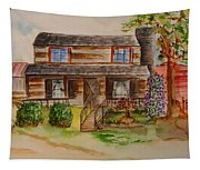 The Red Sleigh Shoppe Tapestry