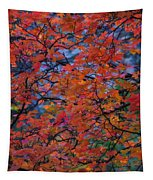 The Reds Of Autumn  Tapestry