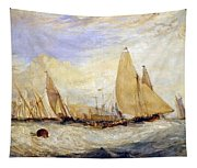 The Regatta Beating To Windward Tapestry