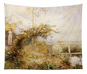 The Return From The Harvest Field Tapestry