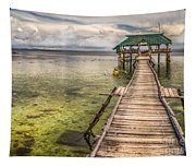 The Rickety Pier Tapestry
