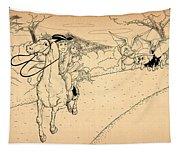 The Ride Of Paul Revere Tapestry
