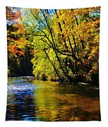 The Rifle River At Highbanks Base Tapestry