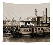 The River Lady Toms River New Jersey Tapestry