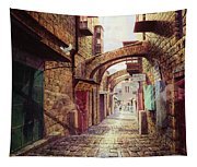 The Road To The Cross  Jerusalem Tapestry