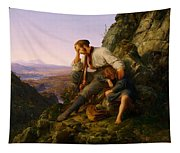The Robber And His Child Tapestry