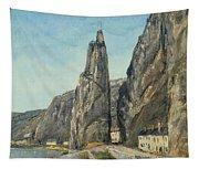 The Rock At Bayard, Dinant, Belgium Tapestry