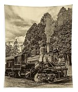 The Rocket Sepia Tapestry