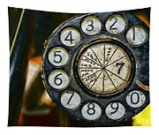 The Rotary Dial Tapestry