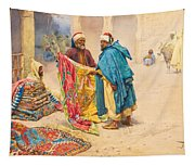 The Rug Merchant Tapestry