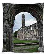 The Ruins Of St Andrews Cathedral Tapestry