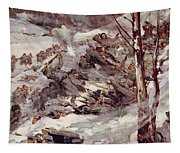 The Russians Fighting Their Way Over The Carpathians Tapestry