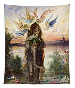 The Sacred Elephant Tapestry