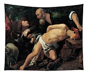 The Sacrifice Of Isaac Tapestry