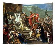 The Sacrifice Of Jephthahs Daughter Tapestry