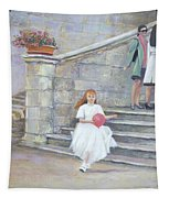 The San Gimignano Wedding Party Tapestry