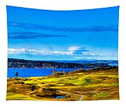 The Scenic Chambers Bay Golf Course Iv - Location Of The 2015 U.s. Open Tournament Tapestry